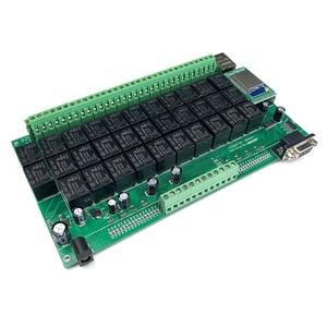 Image 1 - Kincony Domotica Hogar WiFi IP röle akıllı ev otomasyon modülü denetleyici 32 anahtarı kontrol kanalı 6CH güvenlik Alarm sensörü