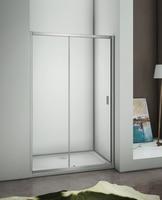 5mm tempered glass sliding shower screens