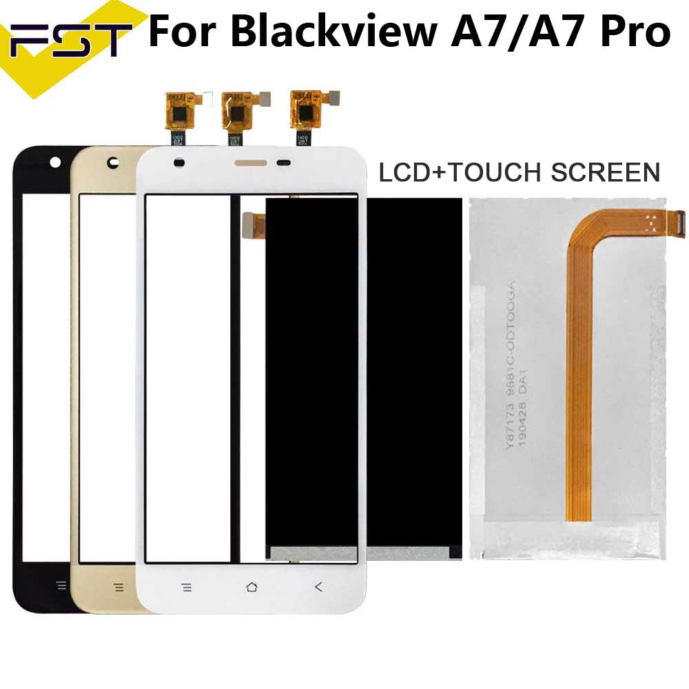Tested Well 5.0'For Blackview A7 / A7 Pro LCD Display+Touch Screen Digitizer For Blackview A7 A7 Pro LCD With Touch Spare Parts