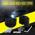 Модификация автомобиля запчасти лебедка крюк стопорный кабель протектор резиновый кабель штекер внедорожные Аксессуары для автомобилей