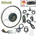 Schuck Электрический велосипед конверсионный комплект 48V1000W заднее моторное колесо мощный мотор с KT LCD6 дисплей 20-28 дюймов 700C Ebike комплекты