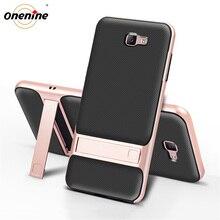 Béquille 3D téléphone couverture arrière pour Samsung J7 housse étui premier TPU + PC Silicone hybride Carcasas SamsungJ7Prime J7Prime Nxt Prime2