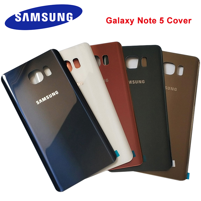 Задняя крышка батарейного отсека для Samsung Galaxy Note 5