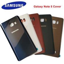 Samsung Galaxy Note 5 obudowa tylna pokrywa baterii szklana obudowa pokrywa Samsung Note5 wymiana obudowy tylnej drzwi