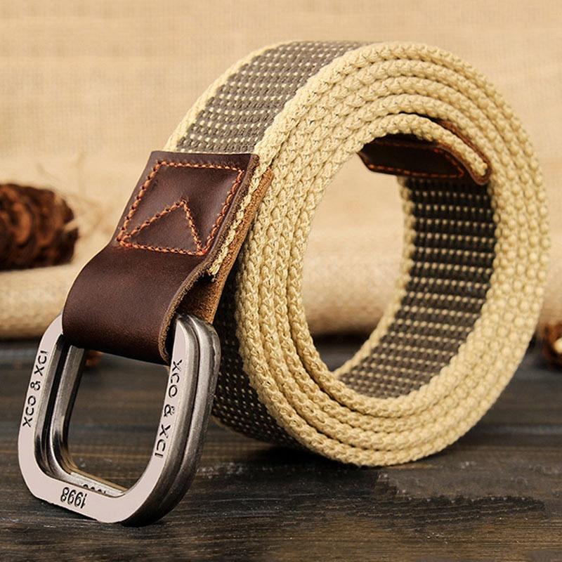 Mens Belt//Leather Casual Belt//Lengthened Belt