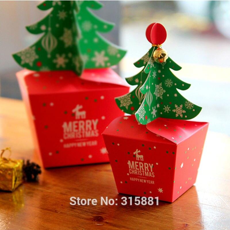 Image 5 - Caixa de presente da árvore do feliz natal, caixas de papel do  alimento do cholocate do biscoito, caixa da maçã do natal, caixa de  presente do natal 30 pçs/lotebox boxbox gift boxlot lot