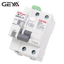 GEYA GRD9L 6KA ELCB RCCB автоматическое повторное устройство с RS485 функция дистанционного управления автоматический выключатель 2P 40A 63A 30mA УЗО