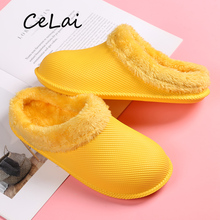 Fashion 2019 woman shoes Designer Plush slippers home women