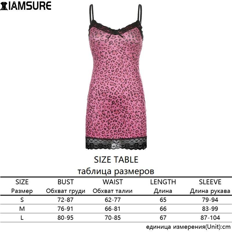 IAMSURE Streetwear Fashion Lace Edge Sexy V-Neck Split Bodycon Dress For Women Flower Print Aesthetic y2k Female Mini Dresses 7