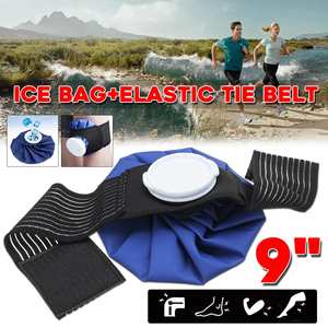 Tie Ice-Bag-Pack Knee-Head Leg-Injury Health-Care Reusable Belt-Set First-Aid Pain-Relief