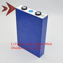 Lifepo4 batería de iones de litio de ciclo profundo, 3,2 V, 3,2 V, 100AH, 90AH, 80AH, 50AH, 100%, nueva