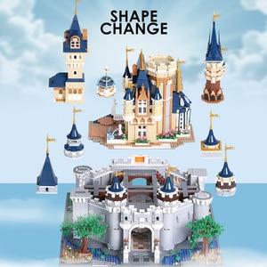 Image 3 - Плесень король 13132 Игрушки совместимы с 71040 Золушка Принцесса замок Модель Строительный блок Детские игрушки Подарки Дети Рождественские игрушки