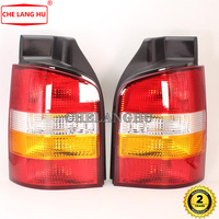2x Car Light For VW Transporter Caravelle Multivan T5 2003 2004 2005 2006 2007 2008 2009 2010 Rear Tail Light Lamp Without Bulbs