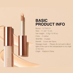 Image 5 - O.TWO.O 5 pçs conjunto de maquiagem dos olhos incluem sobrancelha rímel delineador cobertura completa corretivo líquido uso highlighter como sombra