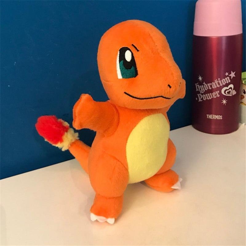 13/20cm TOMY Pokemon Charmander Figure Dolls Pokemon Dragon Anime Plush Dolls A Plush Gift For A Children Kid