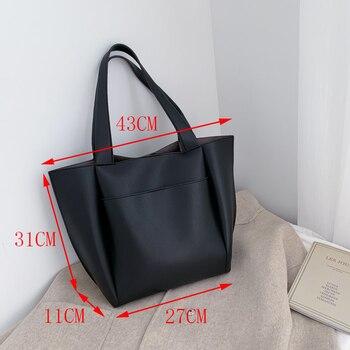 Hot sale women handbag large capacity shoulder bags   4
