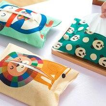 TPXCKz ткань мультфильм крышки коробки из папиросной бумаги носовой платок-салфетка держатель Чехол милый кролик, комплект с рисунком медведя...