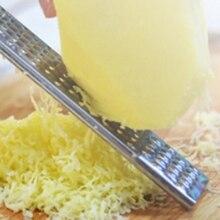 Stainless Steel Lemon Cheese Grater Zester Long Handle Lemon Grater Slicer Chocolate Lemon Zester Fruit Peeler Kitchen Gadgets