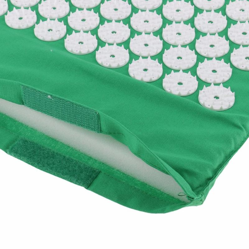 Acupressure Massage Mat with Pillow set to body Relaxation to Release Stress and Tension 26