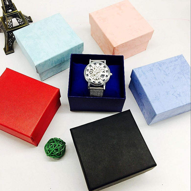 Order Do All Types Of Watch Box Jewlery Box Printed Logo Gift Box Gift Paper Box