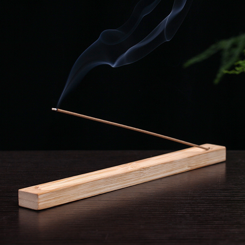 Ароматическая подставка для благовоний, Бамбуковая, 22,5 см
