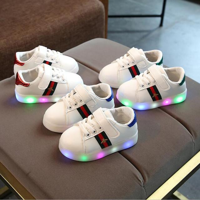 Schoenen met licht