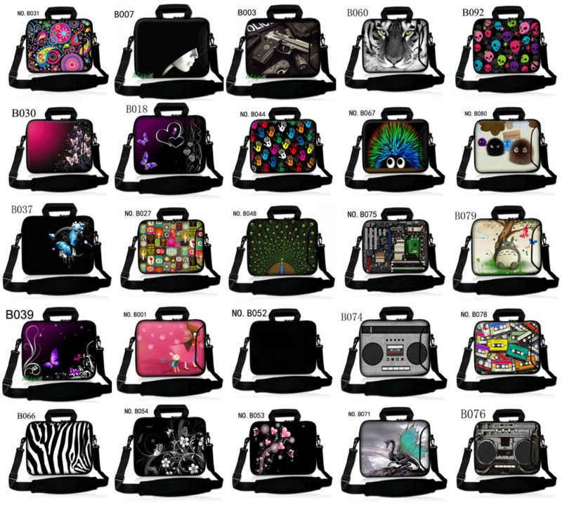 Notebook Laptop Schoudertas Pouch Handtas Voor Ipad Macbook Tablet Pc 7 10 12 13 14 15 15.6 17 Inch vrouwen Mannen Kids
