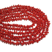 Natural Stone coral beads Water drop shape loose isolation for Jewelry Making  DIY bracelet necklace Accessories