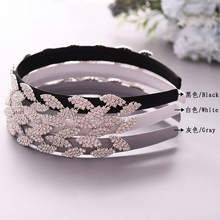 TRiXY S198-FG rhinestone hair band Baroque headband wedding accessories tiara forehead jewelry bridal hairpieces