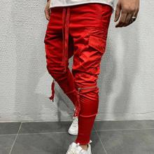 Pantalon de survêtement élastique pour homme, nouveau, automne, hiver, pantalon de Sport, Jogging, Jogging décontracté