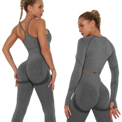 Sports Outfit Woman Seamless Yoga Set Fitness Clothing Sexy Sportswear Women Suit For Fitness workout gym leggings Sport Sets
