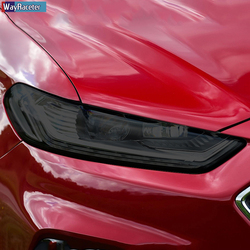 2 Stuks Auto Koplamp Beschermfolie Koplamp Transparant Zwart Tpu Sticker Voor Ford Mondeo MK5 2015-Present Accessoires