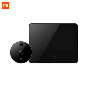 Image 1 - Xiaomi MIJIA 720P 161° FHD Wireless Smart Cat eye Video Doorbell with 5inch Touch Screen AI Face & PIR Movement Detection 5000m