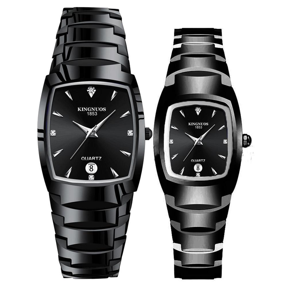 Couple Watches For Lovers Quartz Wristwatches Calendar Waterproof Fashion Casual Ladies Dress Watch Men Women Relogios Masculino