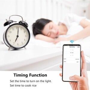 Image 5 - Беспроводной умный выключатель Rubrum Tuya с Wi Fi и таймером, универсальный модуль автоматизации умного дома для Alexa и Google Home