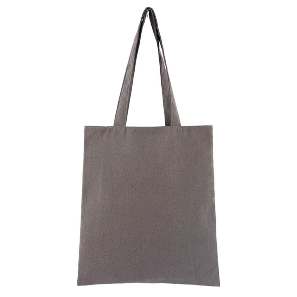 Storage Washable School Cotton Blend Large Capacity Multipurpose Solid Eco Freindly Natural Tote Bag Reusable Shopping Universal