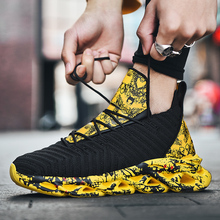 Men Basketball Shoes High-top Breathable Men Ankle Boots Non