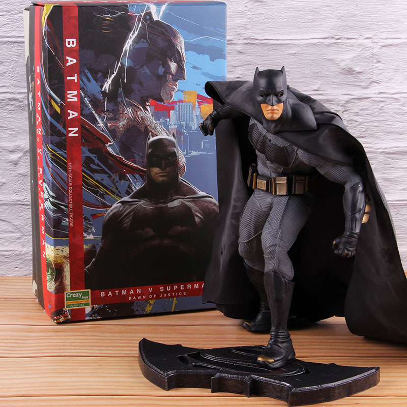 Crazy Toys Batman Vs Superman 1/6th Scale PVC Batman Statue Action Figure Collectible Model Toy 26cm