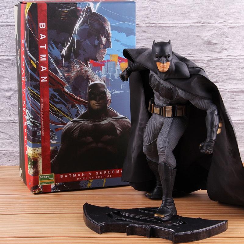 Crazy Toys Batman Vs Superman 1/6th Scale PVC Batman Statue Action Figure Collectible Model Toy 26cm