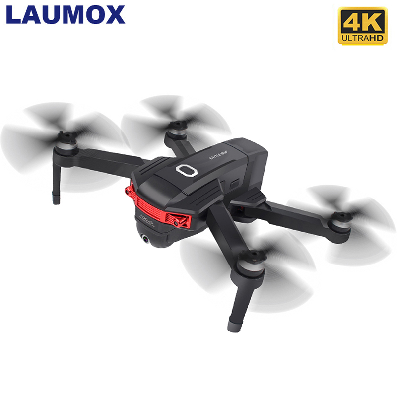 LAUMOX W11 GPS Drone With 5G WIFI 4K 720P FPV Dual Camera Brushless Motor Optical Flow RC Drone Quadcopter Flight 22 Mins Vs K1