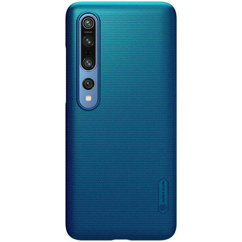 Für Xiaomi mi10 Hülle für Xiaomi mi 10 Pro Cover Nillkin Frosted Shield Rückseite Hülle mit Geschenk Telefonhalter