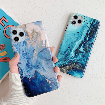 LOVECOM Vintage Marble Texture Phone Case For iPhone 11 Pro Max XR XS Max 6 6S 7 8 Plus X Soft IMD Matte Glossy Back Cover Gift 2