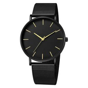 2019 Simplicity Modern Quartz Watch Women Mesh Stainless Steel Bracelet High Quality