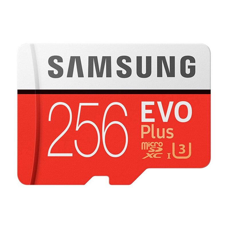 SAMSUNG карта памяти Micro SD, класс 10, 64 ГБ, 128 ГБ, 256 ГБ