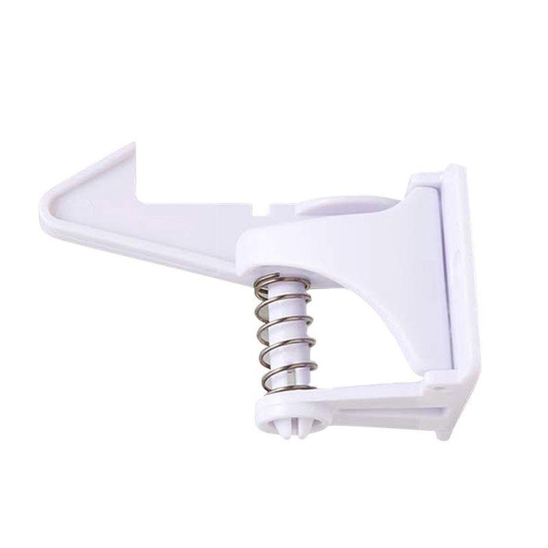 1Set Baby Children's Safety Lock Prevents Kids From Opening Invisible Drawer Lock Kitchen Cabinet Lock Children's Safety Lock