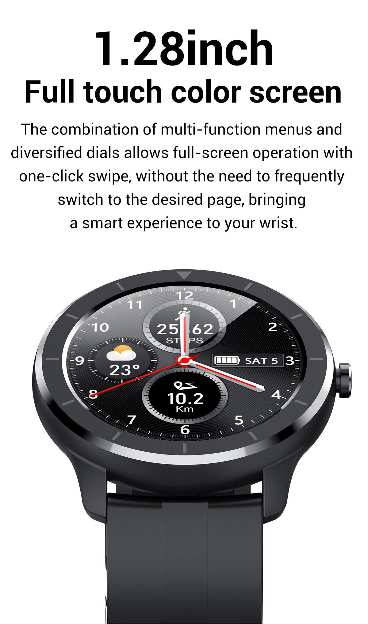 Hfb3cb640c82b407db7778238d5c4d9d2I LEMFO Full Touch Screen Smart Watch Waterproof Smartwatch Men