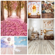 Yeele Photophone Baby Portrait Scenes Retro Wooden Photography Backdrops Personalized Photographic Backgrounds For Photo Studio