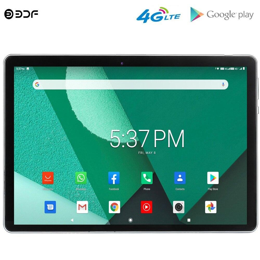 Новый оригинальный 10 дюймовый Android 9,0 Восьмиядерный планшетный ПК 4G Телефонный звонок Dual 4G LTE sim карты GPS WiFi Google Play 10,1 дюймов планшеты Планшеты      АлиЭкспресс