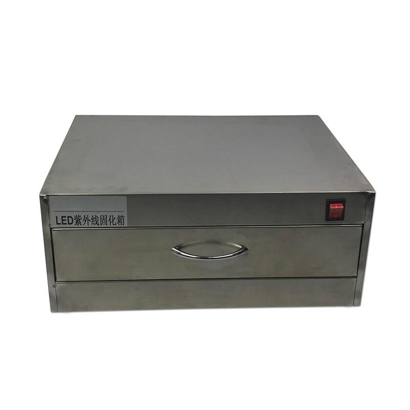 Machine de four de boîte de traitement UV de Type tiroir avec lampe à LED 84W pour la remise à neuf d'affichage à cristaux liquides des téléphones mobiles d'apple, Samsung, HTC, Sony - 4