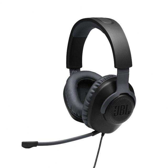 Earphones & Headphones JBL JBLQUANTUM100 Consumer Electronics Portable Audio Video headset Earphone Headphone with microphone QUANTUM 100 for Video Game 96dB Wired Dynamic 1